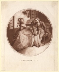 """Sorrows of Werter"". Werther und Lotte am Klavier"